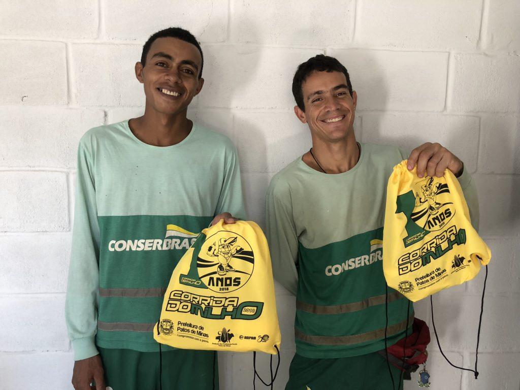 Conserbras apoiará a participação de coletores de lixo na Corrida do Milho em Patos de Minas