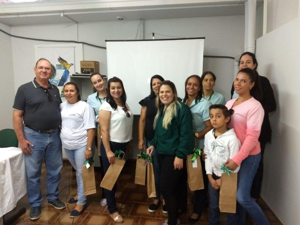 Grupo Conserbras comemorou na manhã desta sexta-feira, o dia das mães