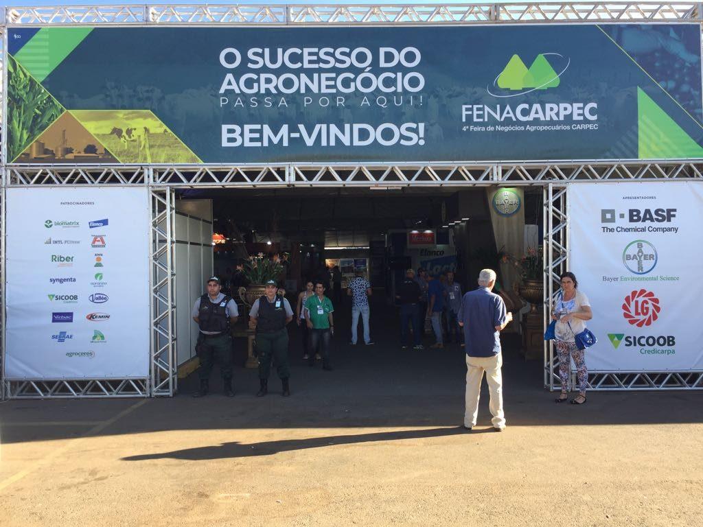 Vigibras esteve presente na 4ª FENACARPEC em Carmo do Paranaíba-MG
