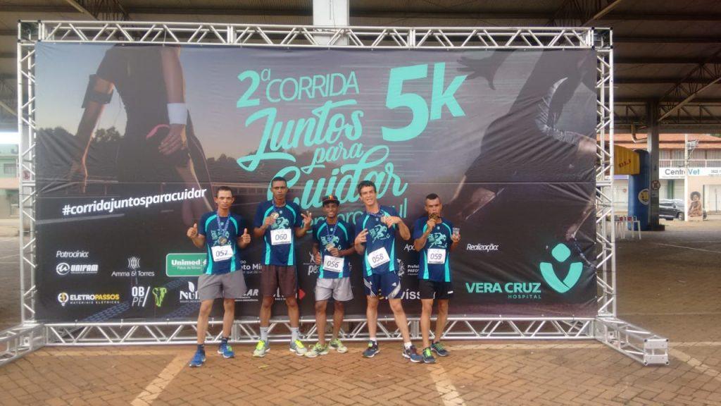 Equipe de atletismo da Conserbras participou de prova em Patos de Minas