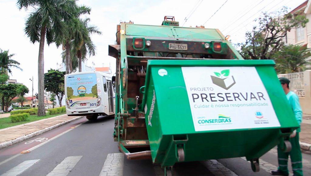 Comunicado a respeito da coleta de lixo nos feriados de Corpus Christi e de Santo Antônio
