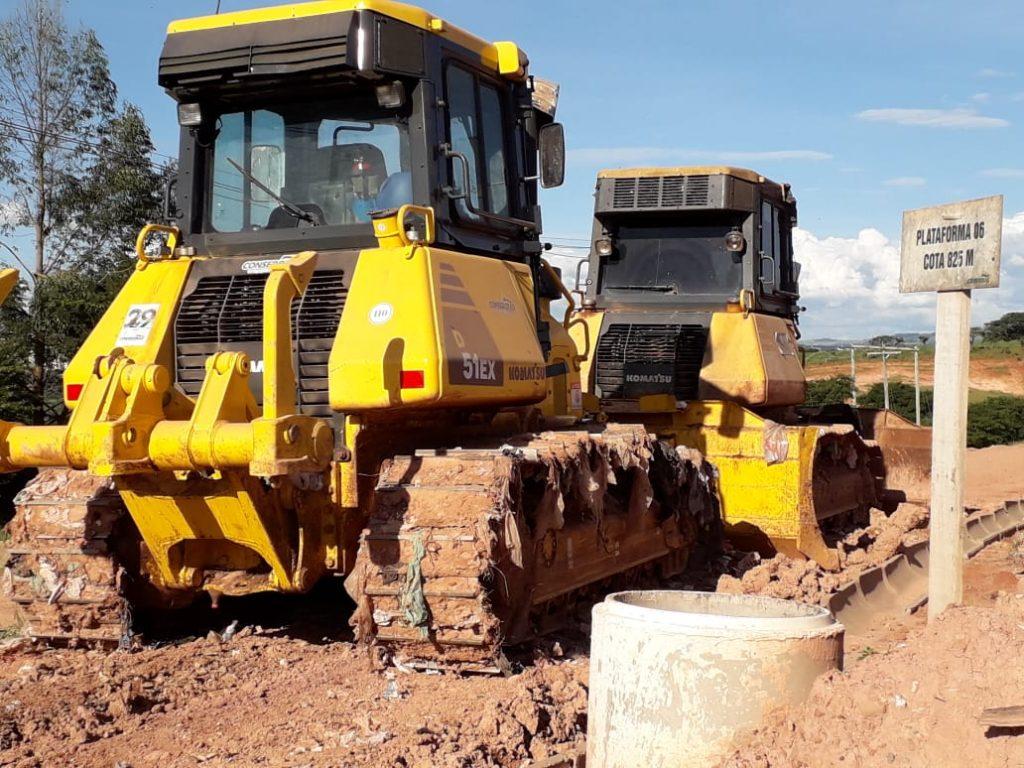 Nova área para recebimento de resíduos sólidos está sendo preparada a todo vapor pela Conserbras