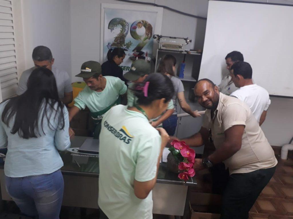 Membros da CIPA receberam treinamento do Programa 5S