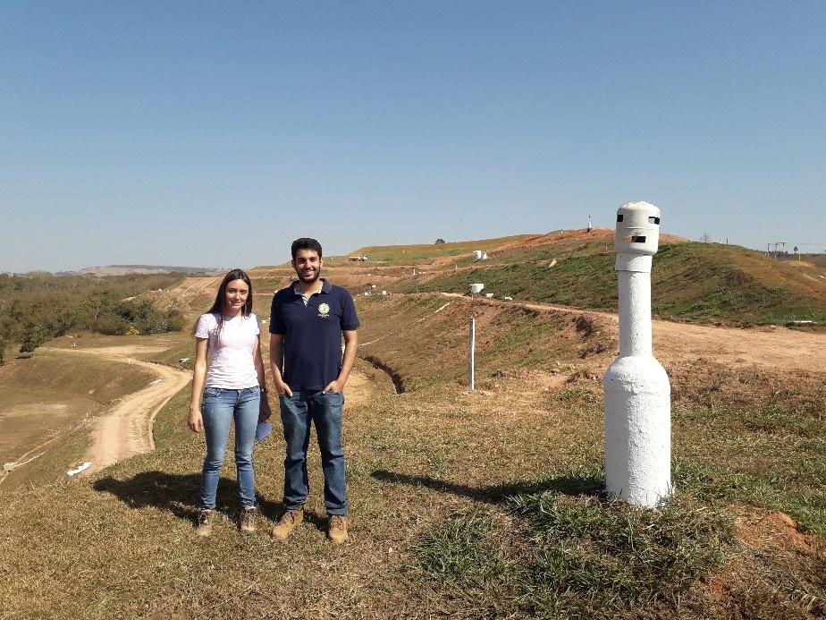 Alunos de Engenharias do Unipam fazem visitas técnicas ao aterro sanitário de Patos de Minas