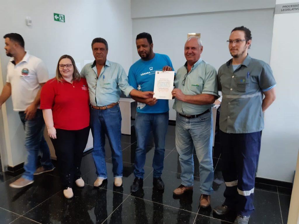 Conserbras recebe moção de aplausos na Câmara Municipal de Conceição do Mato Dentro