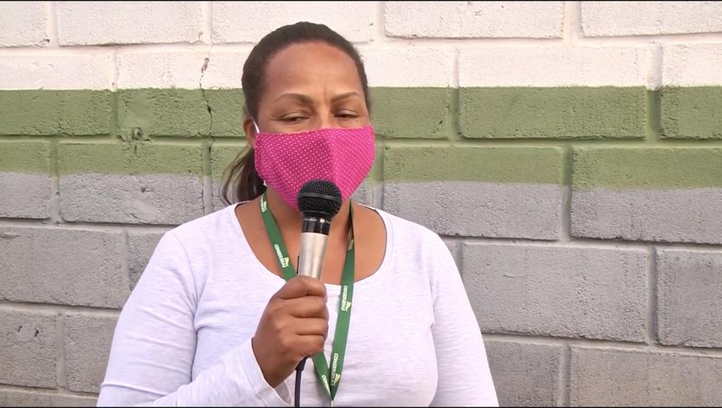 Em matéria na NTV, bióloga da Conserbras esclarece qual a maneira correta de descartar máscaras