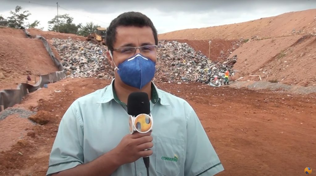 Imprensa Patense repercute a coleta de lixos orgânicos em Patos de Minas