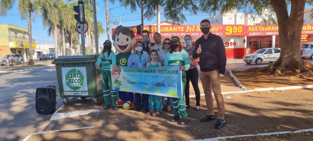 Comemorando o Dia Mundial do Meio Ambiente, Conserbras planta árvores em Patos de Minas