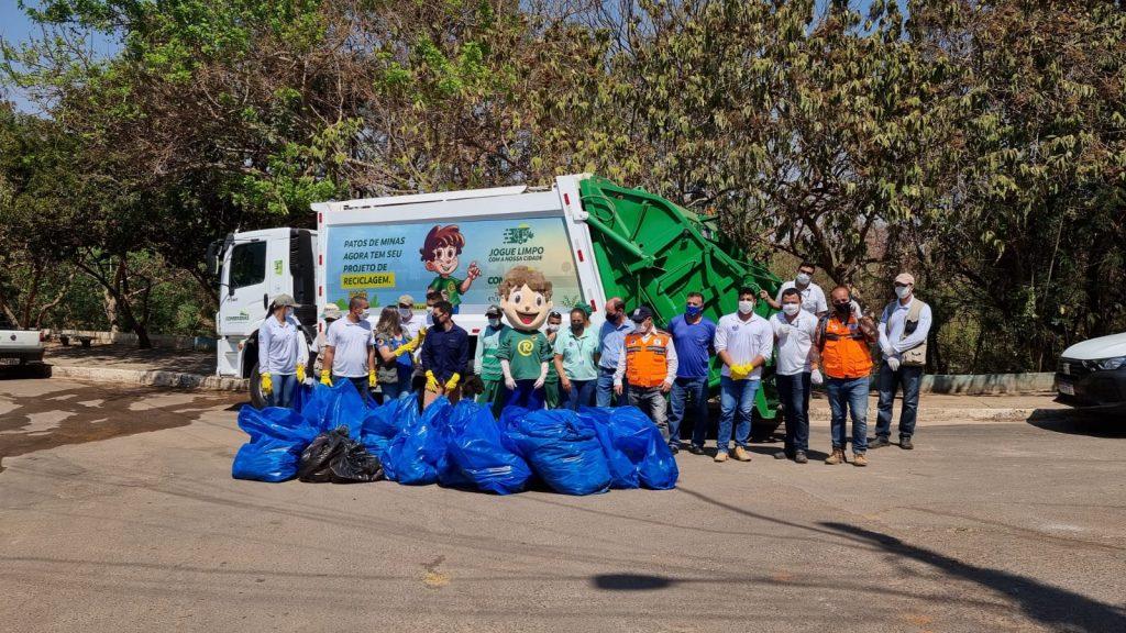 Conserbras apoia e participa do Dia Mundial da Limpeza em Patos de Minas